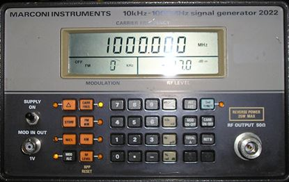 Picture of Marconi 2022 10 Khz-1Ghz Signal Generator