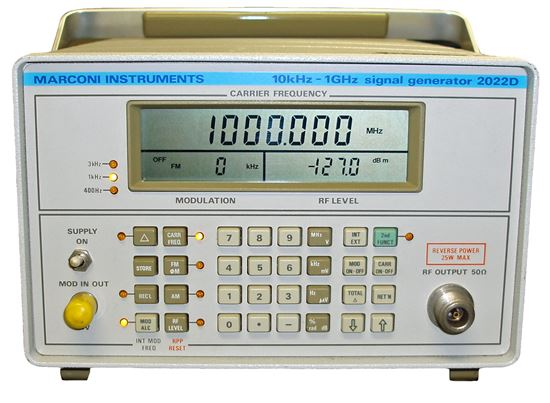 Picture of Marconi 2022D 10 KHz-1GHz Signal Generator