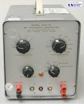 Picture of Solar Electronics 6254-5S RF1 Transient Generator