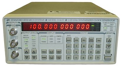Picture of Stanford Research Systems Model CG635 2.05 GHz Clock Generator