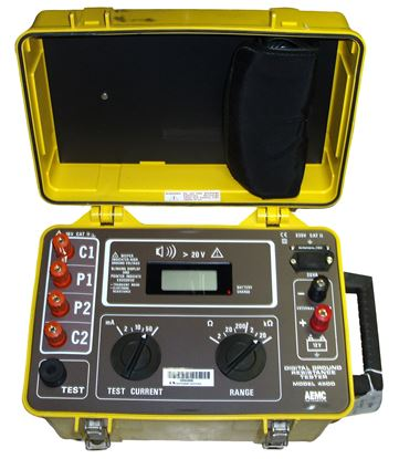 Picture of AEMC 4500 Digital Ground Resistance Tester
