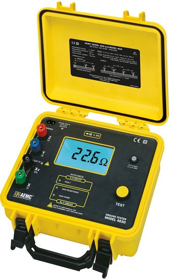 Picture of AEMC 4630 4-Point Ground Resistance Tester 150 Foot