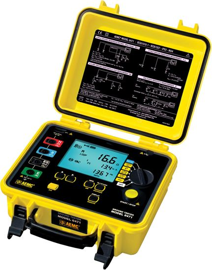 Picture of AEMC 6471 Multi-Function Ground Resistance Tester