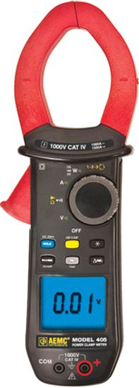Picture of AEMC 405 AC/DC Clamp-On Meter