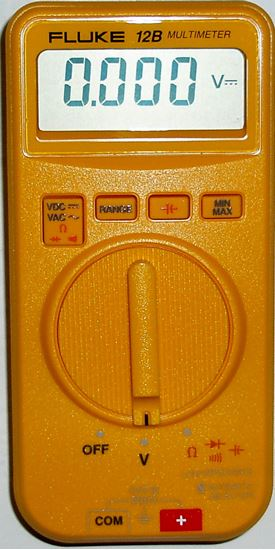 US-Instrument Services  Fluke 12B Hand Held Multimeter