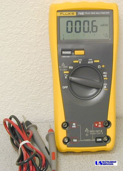 US-Instrument Services  Fluke 79III True RMS MultiMeter