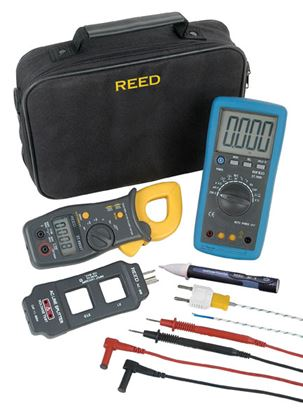 Picture of Reed Multimeter and Clamp Meter Kit New