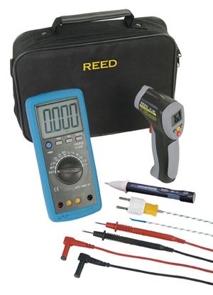 Picture of Reed Multimeter and Thermometer Kit New