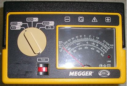 Picture of Biddle 212259 1 Kilovolt Portable Megger