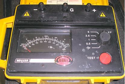 Picture of Biddle BM11 Megger 5 kV Insulation Resistance Tester