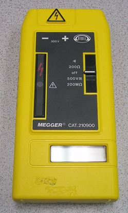 Picture of Biddle BMD1 Cat 210900 500 Volt Handheld Megger