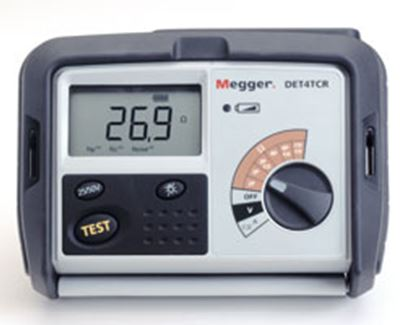 Picture of Megger DET4TC 4 Pole Ground Resistance Tester New