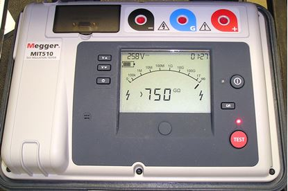 Picture of Megger MIT510 5 Kilovolt Insulation Tester New