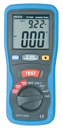 Picture of Reed ST-5500 1000 Volt Digital Insulation Tester New