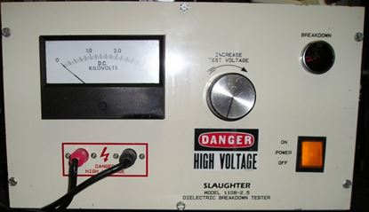 Picture of Slaughter Instruments Model 1108-2.5 2500 Volt Hipot