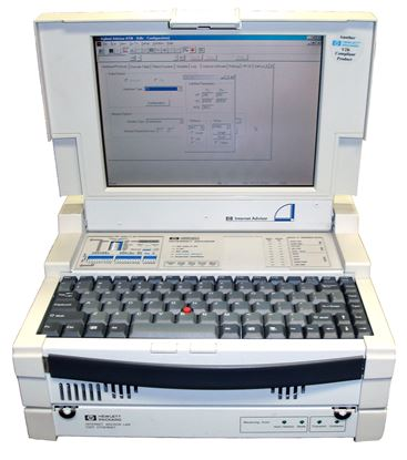Picture of Agilent/HP J2300D with J3444A Ethernet Undercradle