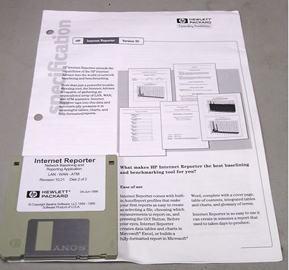 Picture of Agilent/HP J3307A Advisor Reporter Software
