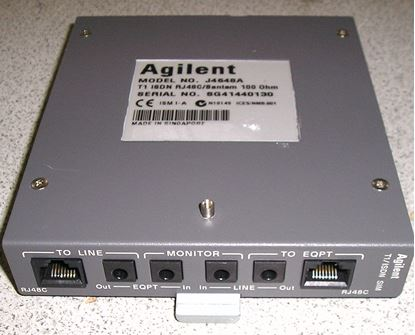 Picture of Agilent/HP J4648A T1 Primary Rate ISDN Module