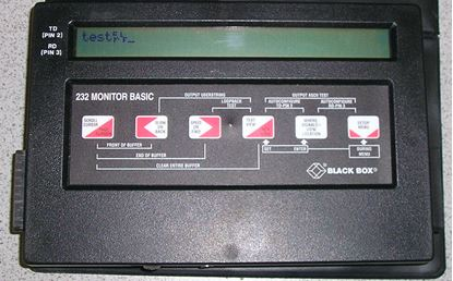 Picture of Black Box 232 Monitor Basic RS-232 Monitor