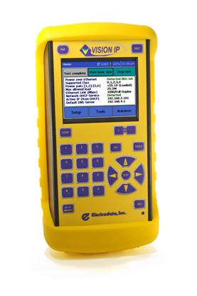 Picture of Electrodata Vision IP Handheld Network Troubleshooter