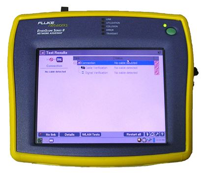 Picture of Fluke Etherscope Series II Network Assistant
