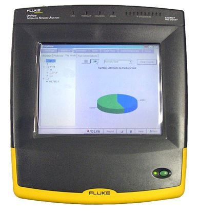 Picture of Fluke Optiview Integrated Network Analyzer