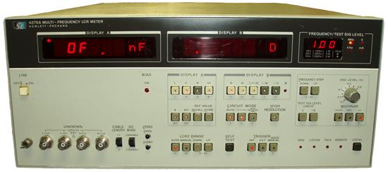 Hp Lcr Meter : Us instrument services agilent hp a multi frequency