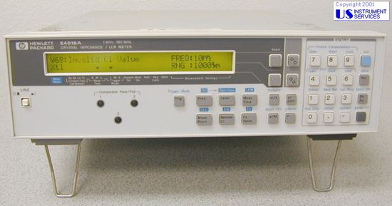 Picture of Agilent/HP E4916A ,180MHz Crystal Impedance/LCR Meter