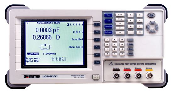 Picture of Instek LCR-8101G 20 to 1 MHz Precision LCR Meter
