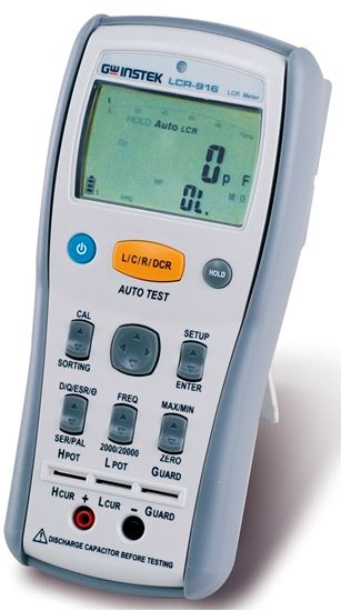 Picture of Instek LCR-916 100 KHz Hand Held LCR Meter