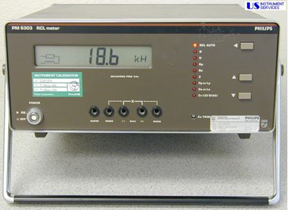 Picture of Philips PM6303 4-Digit RCL Meter