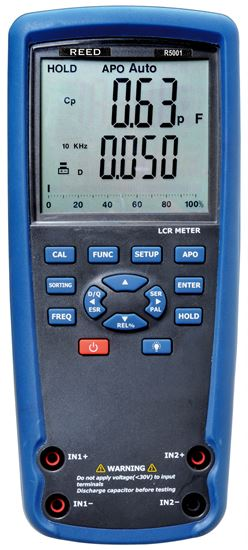 Picture of Reed R5001 Handheld LCR Meter New