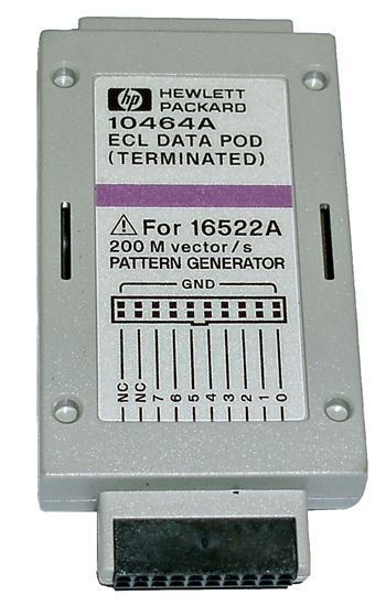 Picture of Agilent/HP 10464A ECL (Terminated) Data Pod