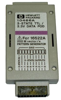 Picture of Agilent/HP 10466A 3-State TTL 3.3 Volt Pattern Generator Data Pod