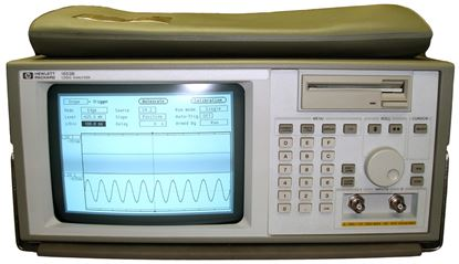Picture of Agilent/HP 1653B 80 Channel Logic Analyzer/100 MHz Oscilloscope