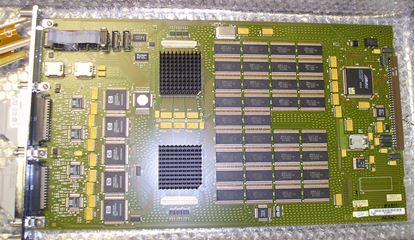 Picture of Agilent/HP 16550A 102 Channel Logic Analyzer Card