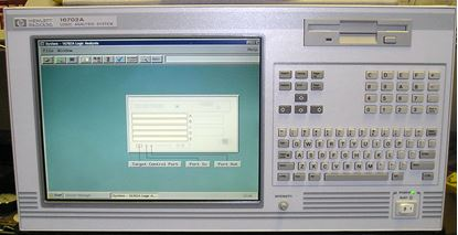 Picture of Agilent/HP 16702A Logic Analyzer Mainframe