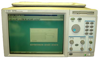 Picture of Agilent/HP 16702B Logic Analysis System