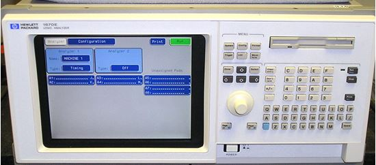 Picture of Agilent/HP 1670E 136-Channel Logic Analyzer