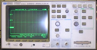 Picture of Agilent/HP 54620A 16 Channel Logic Analyzer