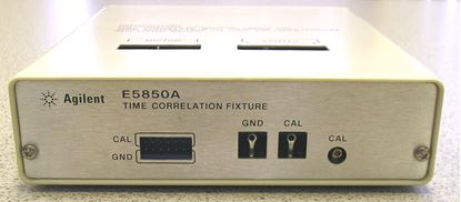 Picture of Agilent/HP E5850A Time Correlation Fixture