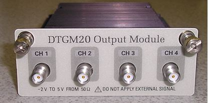 Picture of Tektronix DTGM20 Output Timing Module for the DTG5000 Series