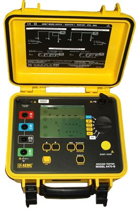 Picture of AEMC 6470-B Digital Ground Resistance Tester