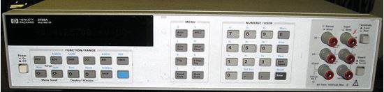Picture of Agilent/HP 3458A 8.5 Digit Digital Multimeter with option 2