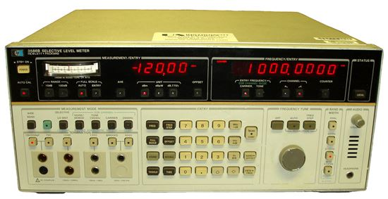 Picture of Agilent/HP 3586B Selective Level Meter