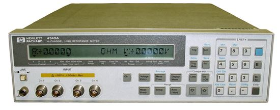 Picture of Agilent/HP 4349A 4-Channel High Resistance Meter