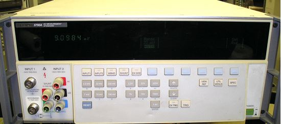 Picture of Fluke 5790A AC Measurement Standard with wideband option