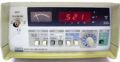 Picture of Fluke 8922A True RMS AC Voltmeter