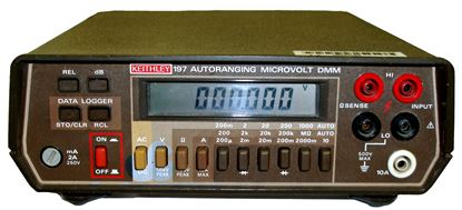 Picture of Keithley 197 5 1/2-Digit Portable Multimeter