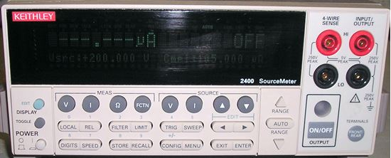 Picture of Keithley 2400 200 Volt 1 Amp Sourcemeter